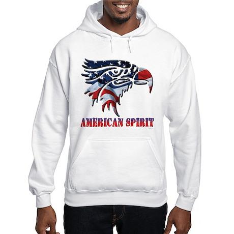 US Flag: American Spirit Hooded Sweatshirt