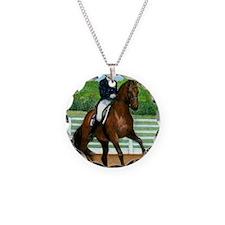 Hanoverian Dressage Horse Necklace