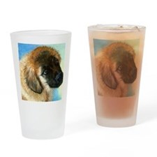 Leonburger Puppy Dog Drinking Glass