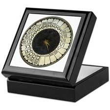 Clock in the Duomo by Uccello Keepsake Box