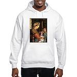 Madonna-Aussie Shep #4 Hooded Sweatshirt