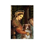 Madonna-Aussie Shep #4 Rectangle Magnet (10 pack)