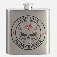 Freelance Zombie Hunter Flask