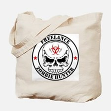 Freelance Zombie Hunter Tote Bag