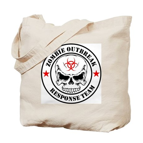 Zombie Outbreak Response Team Graphic T Tote Bag