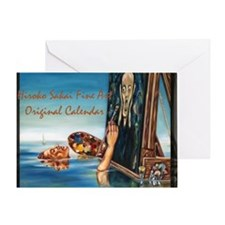 Over Sized Calendar Cover Greeting Card