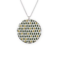 Avocado Pattern Necklace