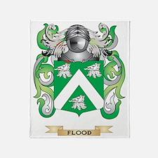 Flood Coat of Arms Throw Blanket