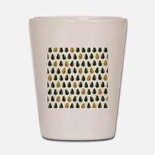 Avocado Pattern Shot Glass