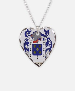 Flores Coat of Arms Necklace
