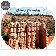 Bryce Canyon, Utah, USA (oval caption) Puzzle