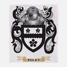 Foley Coat of Arms Throw Blanket