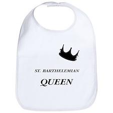 St. Barthelemian Queen Bib