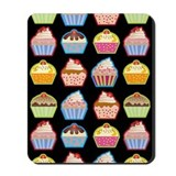 Cartoon cupcake Classic Mousepad