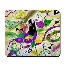 mardi gras party Mousepad