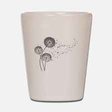 Dandelion Wishes Shot Glass