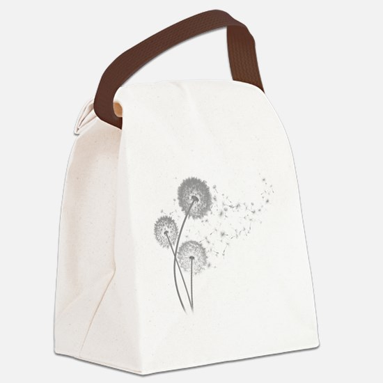 Dandelion Wishes Canvas Lunch Bag
