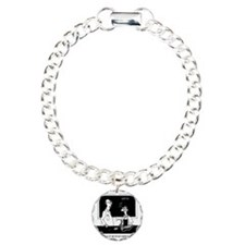 Joan of Arc  Welding Charm Bracelet, One Charm