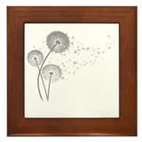 Dandelion Framed Tiles