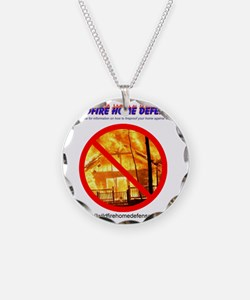 Wildfire Home Defense T-Shir Necklace