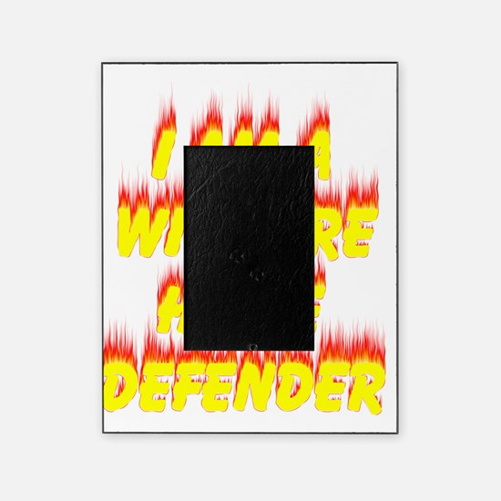 Wildfire Home Defense T-Shirt (Front Picture Frame