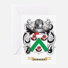 Forrest Coat of Arms Greeting Card