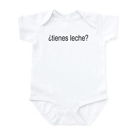 ¿tienes leche? Infant Bodysuit