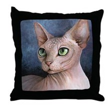 Cat 578 Throw Pillow