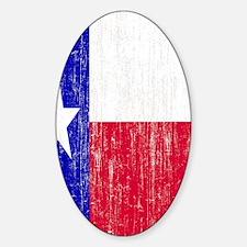 Vintage Texas Flag Decal