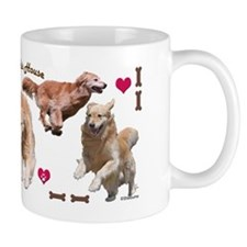 Golden Retriever Key Hanger Mug