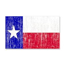 Vintage Texas Flag Car Magnet 20 x 12