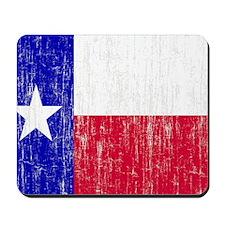 Vintage Texas Flag Mousepad
