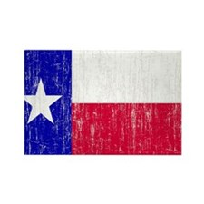 Vintage Texas Flag Rectangle Magnet