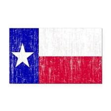 Vintage Texas Flag Rectangle Car Magnet