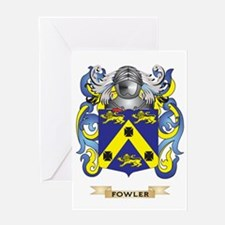 Fowler Coat of Arms Greeting Card