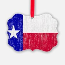 Vintage Texas Flag Ornament