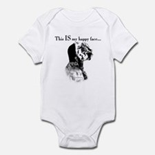Setter Happy Face Infant Bodysuit