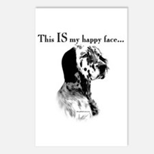 Setter Happy Face Postcards (Package of 8)