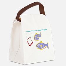Tashlich T light Canvas Lunch Bag