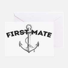 First Mate copy Greeting Card