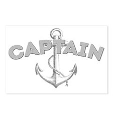 Captain dark Postcards (Package of 8)
