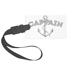Captain dark Luggage Tag