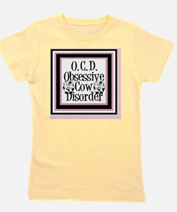 obsessivecowqueen Girl's Tee