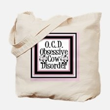 obsessivecowqueen Tote Bag