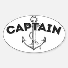 Captain copy Sticker (Oval)