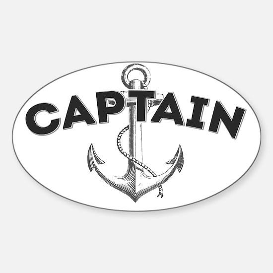 Captain copy Sticker (Oval)