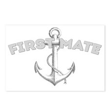 First Mate DARK Postcards (Package of 8)