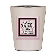 obsessivecowking Shot Glass