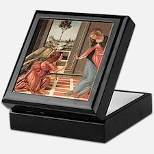 Cestello Annunciation by Botticelli Keepsake Box