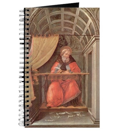 Saint Augustine in His Study by Botticelli Journal